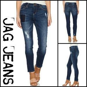 Jag Jeans Distressed Midrise Skinny Jeans | sz 6